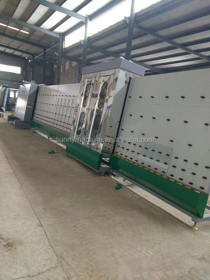 hollow glass roller press machine