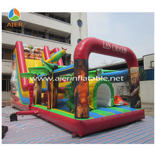 digital printing theme for the croods inflatable slide