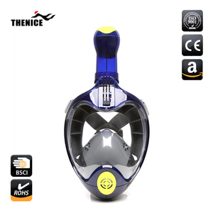New Best Products H2O Ninja Underwater Scuba Easybreath Full Face Swimming Nose Diving Snorkel Mask