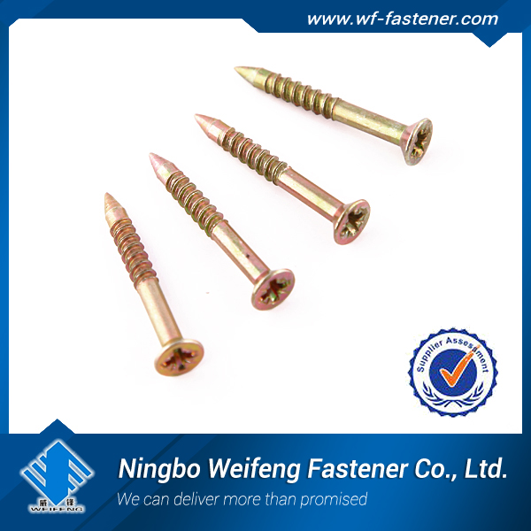 China supplier,screw manufacturing,interlocking nail,high quality against Taiwan