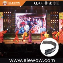 3 in1 Flexible Fireproof LED Video Screen Display, Folding Outdoor Curtain Backdrop
