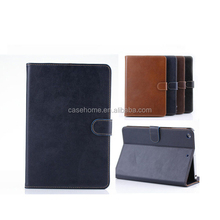 Retro Genuine Leather Card Stand Smart Case Cover for ipad 2/3/4/5 Tablet cover
