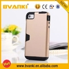 Business card holder credit card holder phone car holder for iphone 5 gold housing for iphone case 5 for iphone 5s back housing