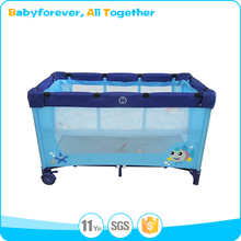 Baby furniture crib lightweight extendable baby playpen
