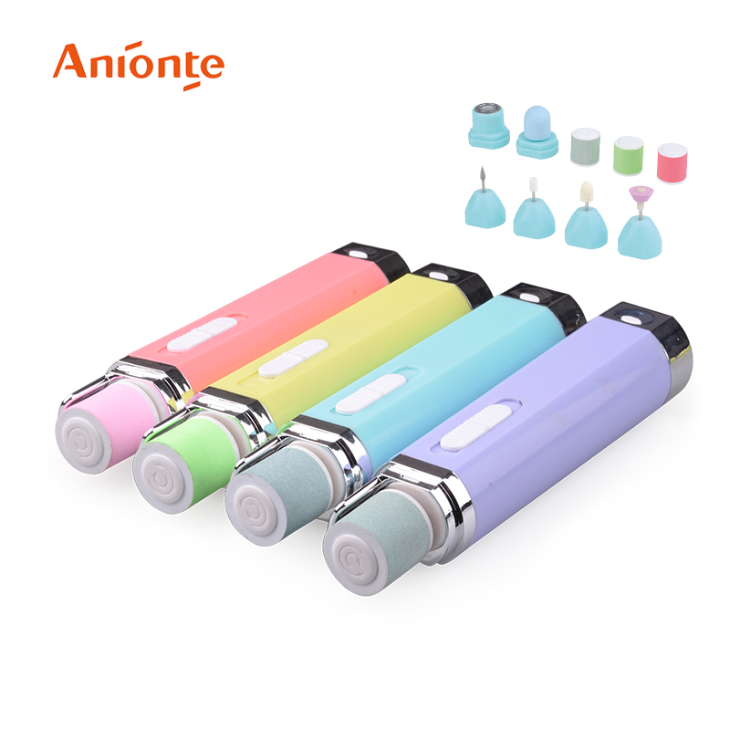 4 Interchangeable Attachment Professional Electric Nail Polisher