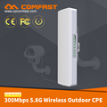 COMFAST CF-E312A Factory Price 5.8Ghz 5KM Wifi Hotspot 300Mbps AR9344 Outdoor Wireless Wifi CPE