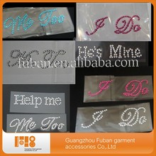 high quality letter ME TOO-he's mine-i do shoe sticker for Bride & Groom Wedding Shoe sticker for shoe
