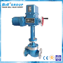 Chemical Industry 3inch PN16 Motorized Control Valve