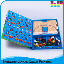 2018 new printed design book printing baby gift set box