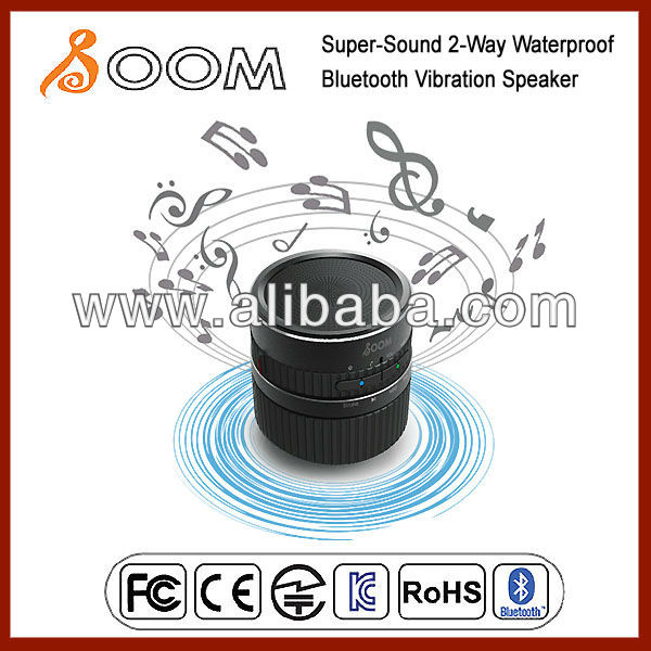 Super-Sound Waterproof Bluetooth Vibration Speaker