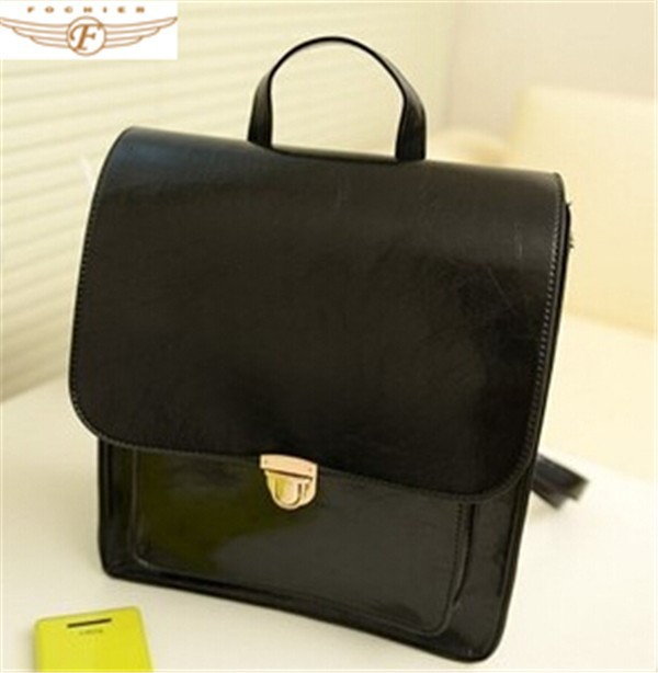 High quality PU/PVC ladies backpack