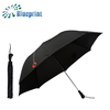 Logo Print Promotion Ideas new design Sports Black Folding Umbrella