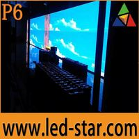 Programmable Custom Size P6 LED Screen Video Wall Display Hot Selling in Middle East