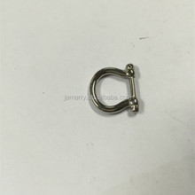Mini Screw Clasp for Survival Rope Bracelet Make Stainless Steel Jewelry Components
