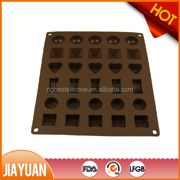 Food grade chocolate chip molds silicone