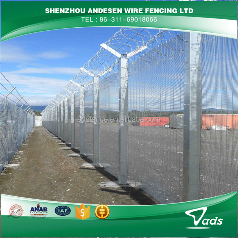 358 Prison Mesh High Security Fence By ADS Fencing