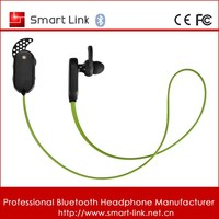 mobile phone accessories factory in china stereo bluetooth earpiece /4.1 in ear wireless sport bluetooth earpiece with mic