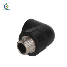 Forged High Pressure Pipe Fittings Threaded Stainless Steel Male/Female Elbow 90 Degree