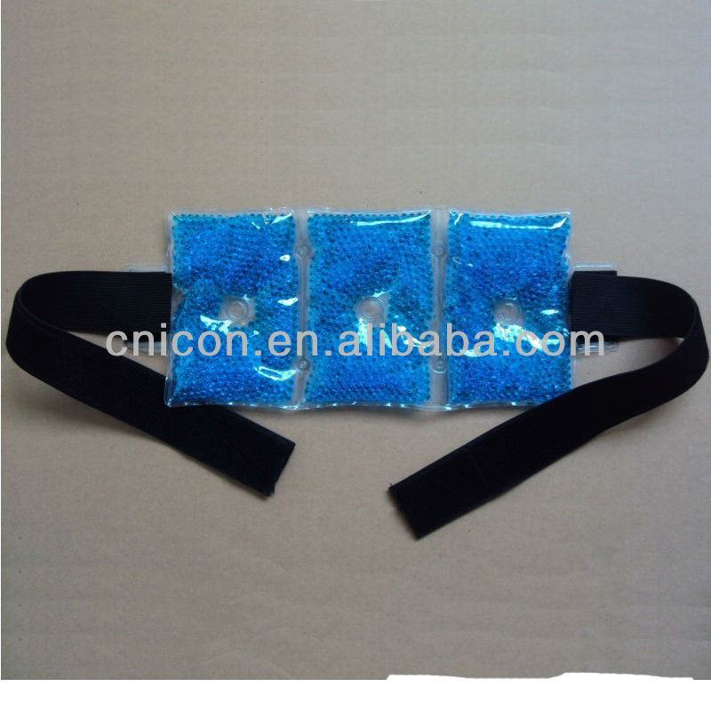 HOT COLD GEL BEADS PACK WITH BELT