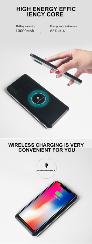 Shenzhen supplier qi mobile phone charger Digital display wireless charger for iPhone 6s