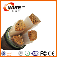 PVC insulated steel armoured VV /VLV underground power cables