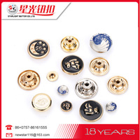 New products innovative mini metal buttons for garment clothing