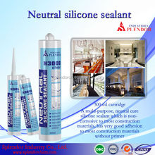 Neutral Silicone Sealant/ household silicone sealant materials use for furniture/ electronic components potting silicone sealant