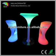 Remote/wireless luminous LED Cocktail Table