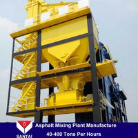 construction equipment mixers asphalt plant Lb500 40Tph asphalt mixing Plant