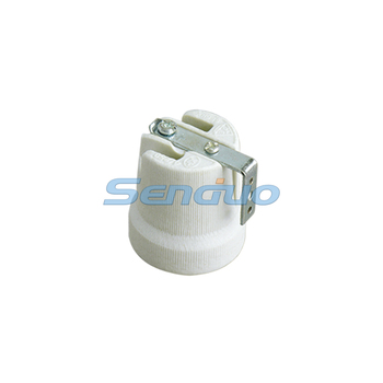 Ceramic E27 bulb holder made in China