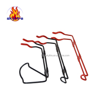 Popular hotsell fire extinguisher rack price and fire extinguisher wall bracket