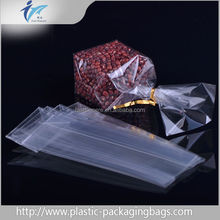 Custom Clear recycled food grade packaging printing BOPP OPP cellophane bag