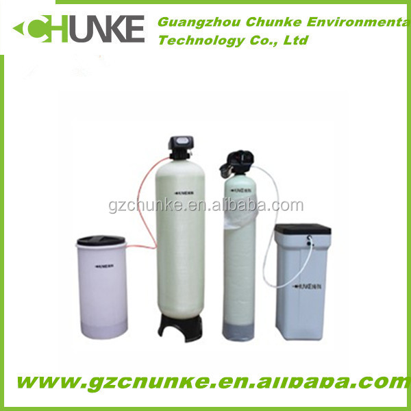 China supply CE Approved water softener cover/water softener domestic/espresso machine water softener