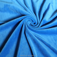 100% polyester low pile velboa plush fabric