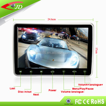 Touch key 10.1 inch auto multimedia player car headrest monitor dvd for audi