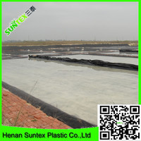 2016 High Density Polyethylene HDPE geomembrane for Fish pond Liner with more than 10 used years