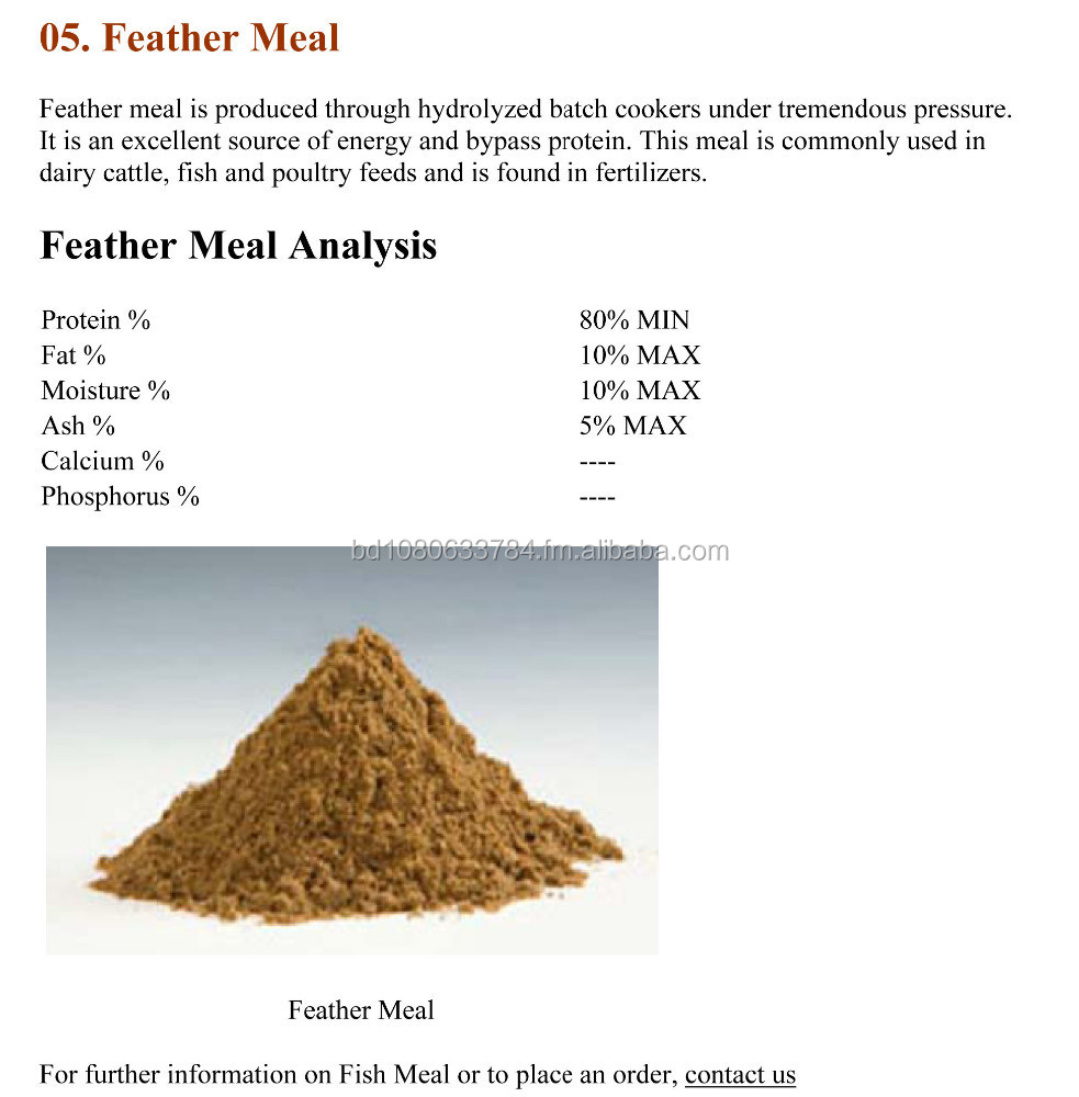 Carne e farinha de ossos farinha de peixe aves refei o for Fish bone meal