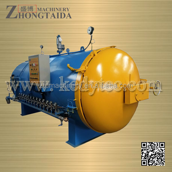 tire renewing and vulcanization autoclave