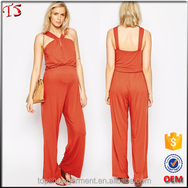 Clothing manufacturer modern fancy maternity clothes women jumpsuit