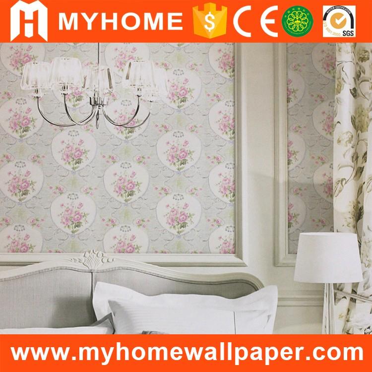 Pop Designs Vinyl Wall Covering Bathroom Vintage Pink Rose Wallpaper Buy Pink Rose Wallpaper