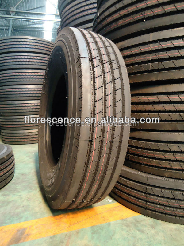 Bus tire 10R22.5 manufacture