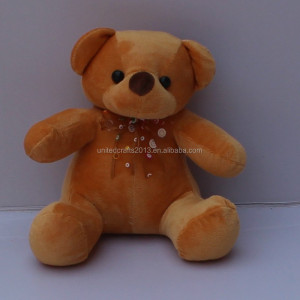 China plush toy animals, custom production animal bear plush toy