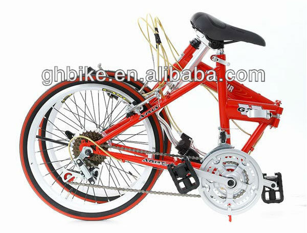 "26"" 18 Speed Folding Mountain Bike Susp. Fork"