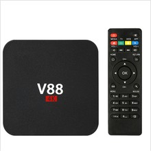 V88 ott tv box RK3229 Quad core Android 5.1 OS cheapest 4K android tv box new product by Top-king