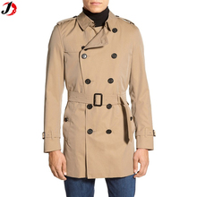 new pant coat design double-breasted men trench coat