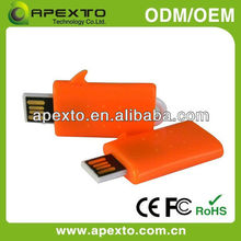 superior quality color oem plastic usb flash drives (UP-625)