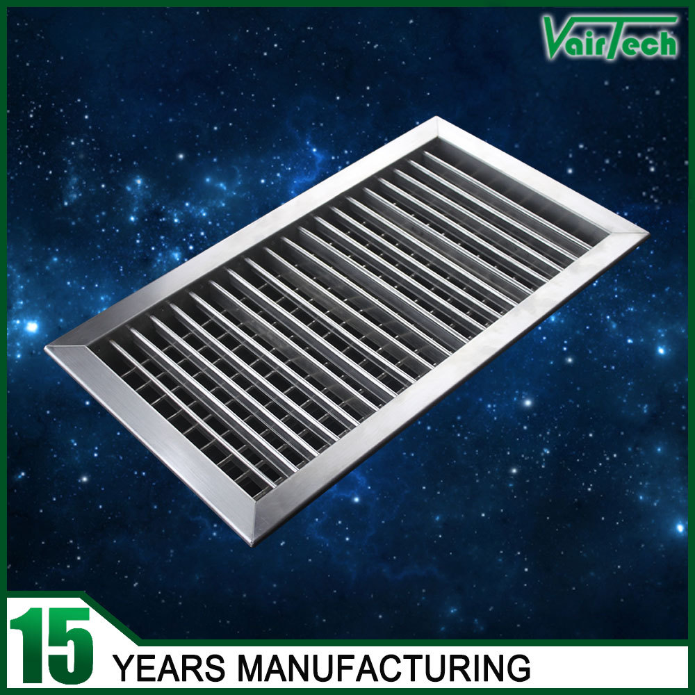 Hvac stainless steel registers and grilles air louvers