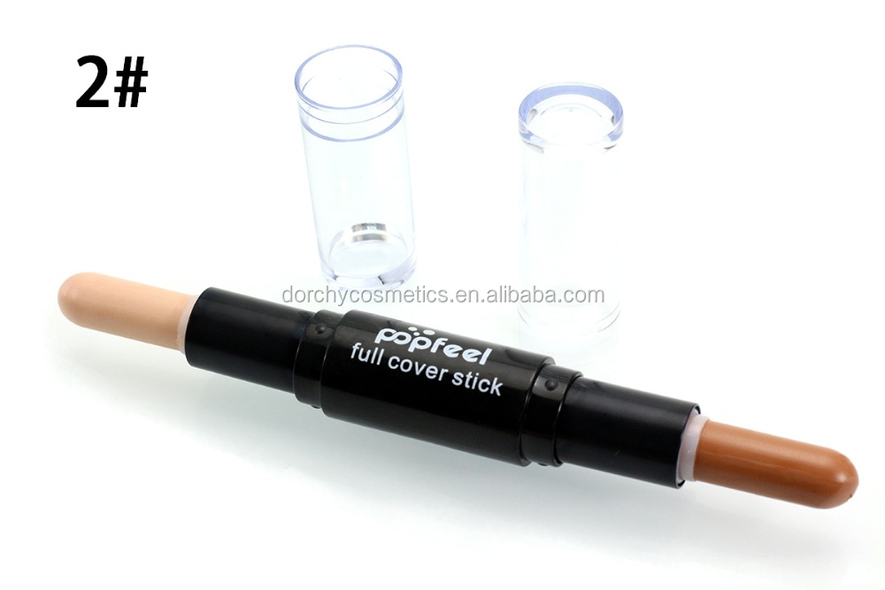 Popfeel Double-end Cosmetic Foundation Concealer Makeup Stick