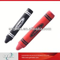 Eco-Friendly and safety Material crayon stylus pen durable Stylus pen for kids