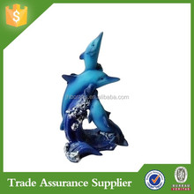 Top Sale Polyresin Souvenirs Dolphins Custom